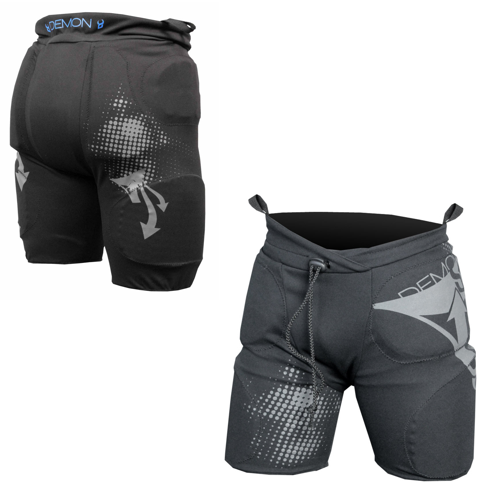Demon Flex Force Pro Short Youth Snowboard Impact Shorts 2015